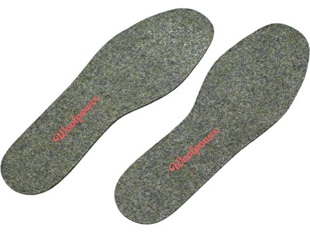 Woolpower Filz-Einlegesohle recycle grey